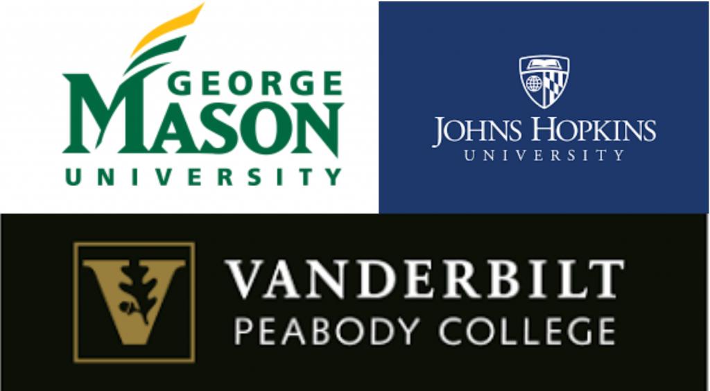 George Mason, John Hopkins and Vanderbilt